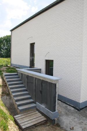 Parement des murs de sout nement rev tement de l for Plafonnage mur exterieur