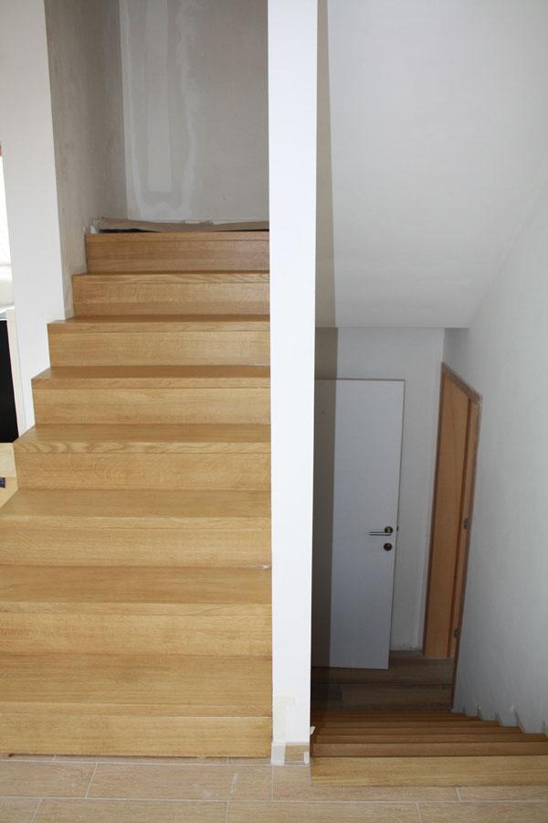 Escalier Vitrification Notre Construction Passive